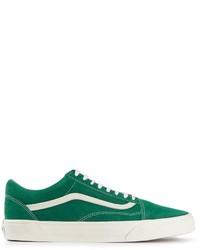 Zapatillas plimsoll verdes de Vans