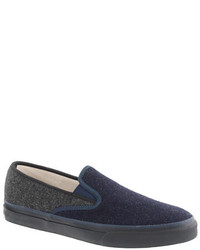 Zapatillas slip-on azul marino
