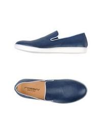 Zapatillas slip-on azules