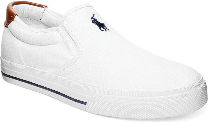 Zapatillas Slip,on Blancas de Polo Ralph Lauren