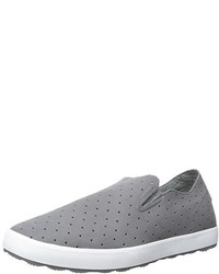 Zapatillas slip-on de ante grises de Freewaters