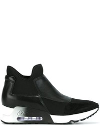 Zapatillas Slip-on de Ante Negras de Ash