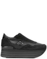 Zapatillas Slip-on de Ante Negras de Hogan