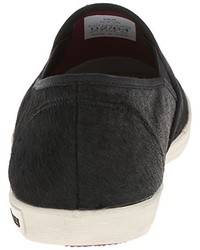 Zapatillas slip-on de ante negras de SeaVees