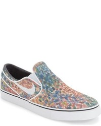 Zapatillas slip on de ante original 9748795