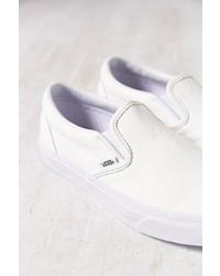 Zapatillas Slip,on de Cuero Blancas de Vans