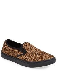 Zapatillas Slip-on de Cuero