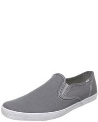 Zapatillas slip on grises original 9745361