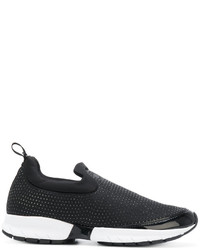 Zapatillas Slip-on Negras de Armani Jeans