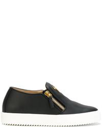 Zapatillas Slip-on Negras de Giuseppe Zanotti Design