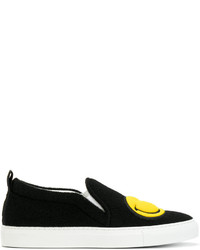 Zapatillas Slip-on Negras de Joshua Sanders