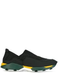 Zapatillas Slip-on Negras de Marni