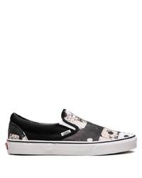 Zapatillas slip-on negras de Vans