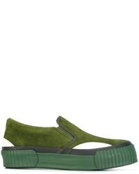 Zapatillas Slip-on Verdes