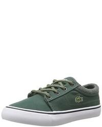 Zapatillas verdes de Lacoste