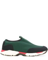 Zapatillas verdes de Marni