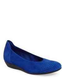 Zapatos bajos azules