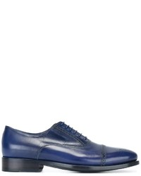 Zapatos Brogue de Cuero Azules de Paul Smith