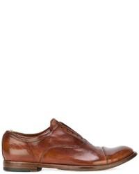 Zapatos Brogue de Cuero Marrónes de Officine Creative