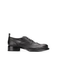 Zapatos brogue de cuero negros de Ann Demeulemeester