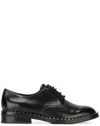 Zapatos brogue de cuero negros de Ash