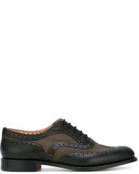 Zapatos brogue de cuero negros de Church's