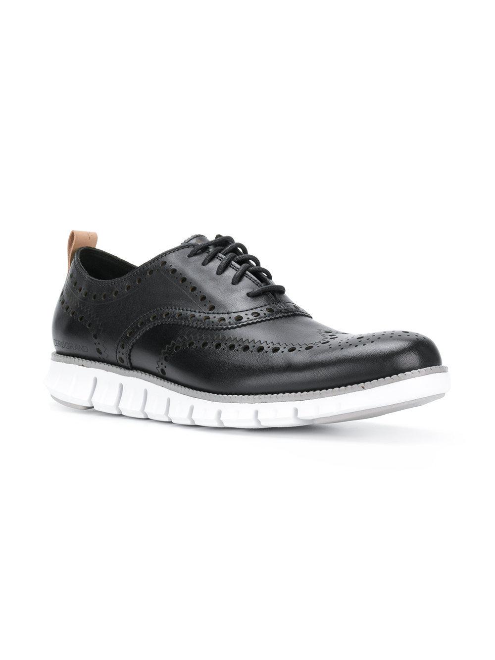 Cuero Negros De Brogue Cole Haan Zapatos zMpqSVUG