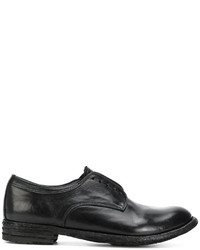 Zapatos Brogue de Cuero Negros de Officine Creative