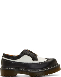 Zapatos brogue negros y blancos original 4711861