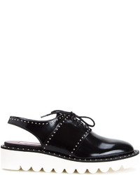 Zapatos brogue negros de Stella McCartney