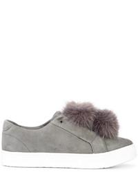 Zapatos con cordones de encaje grises de Sam Edelman