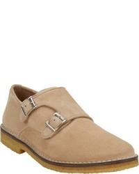 Zapatos con doble hebilla en beige original 1904577
