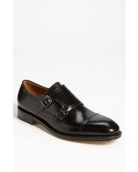 Zapatos con doble hebilla negros original 516834