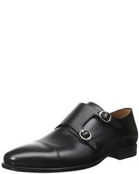 Zapatos con doble hebilla negros de Mezlan