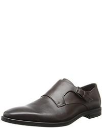 Zapatos con hebilla de cuero marrónes de Calvin Klein
