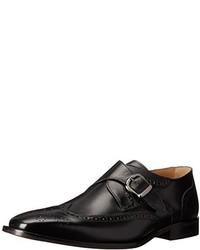Zapatos con hebilla de cuero negros de Florsheim