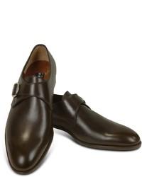 Zapatos con hebilla en marron oscuro original 10600373