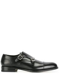 Zapatos con hebilla negros de DSQUARED2