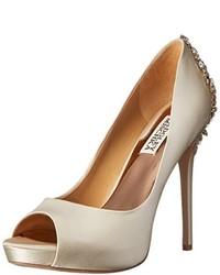 Zapatos de tacón blancos de Badgley Mischka