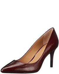 Zapatos de Tacón Burdeos de Calvin Klein