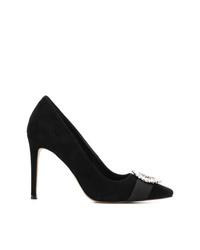 Zapatos de tacón de ante con adornos negros de MICHAEL Michael Kors