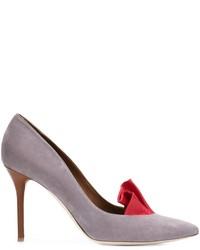 Zapatos de tacón de ante grises de ADAM by Adam Lippes