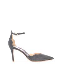 Zapatos de tacón de ante grises de Marion Parke