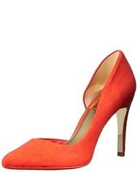 Zapatos de Tacón de Ante Naranjas de Ted Baker