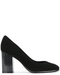Zapatos de Tacón de Ante Negros de Baldinini