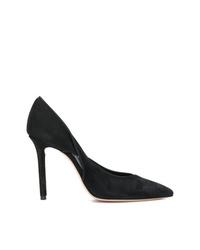Zapatos de tacón de ante negros de Casadei