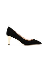 Zapatos de tacón de ante negros de Giuseppe Zanotti Design