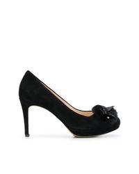 Zapatos de tacón de ante negros de Högl