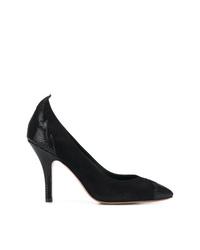 Zapatos de tacón de ante negros de Isabel Marant
