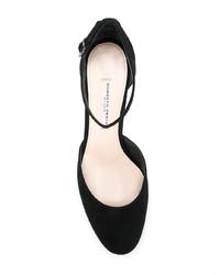 Zapatos de tacón de ante negros de Roberto Festa